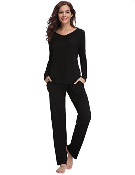 497348b342 Aibrou Women Soft Pyjama Set