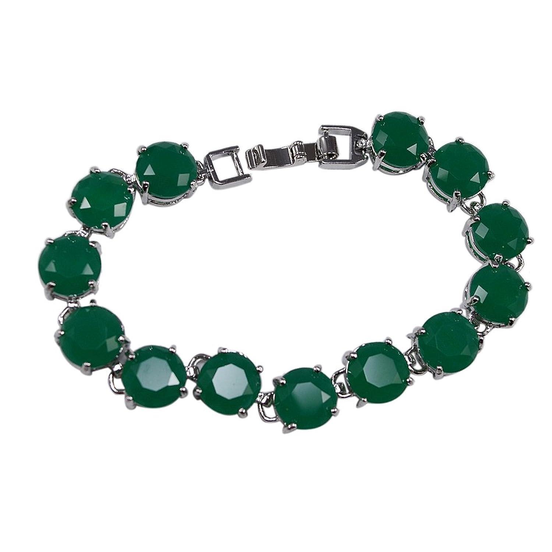 Silvestoo Jaipur Green Onyx Bracelet PG-113361
