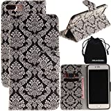 DRUnKQUEEn iPhone 7 plus Case, Wallet Purse Type - Best Reviews Guide