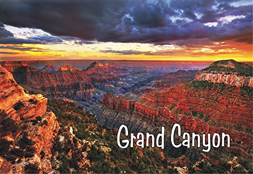 - City to City Marketing Grand Canyon Sunset, Arizona, United States National Park Magnet 2 x 3 Fridge Photo Magnet