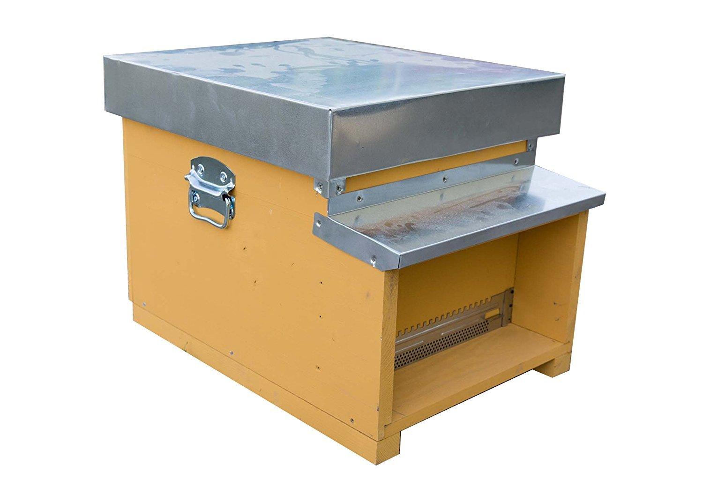 IRPot–Bienenstock Handarbeit aus Holz und Aluminium 10FAVI Bienenzucht Bee Miele
