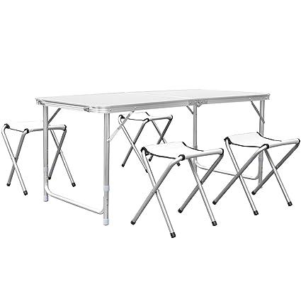 Amazon mesas de jardin excellent tectake conjunto muebles de jardn en poly ratan sintetico - Amazon mesas de jardin ...