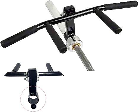 "T Bar Row Landmine Handle Olympic 2/"" Barbell Straight Grip Attachment PowerGym"