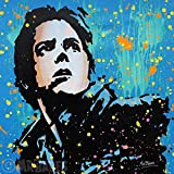 MR.BABES - ''Back To The Future: Marty McFly (Michael J. Fox)'' - Original Pop Art Painting - Movie Portrait