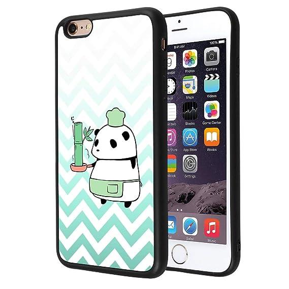 promo code e2088 ef327 Amazon.com: iPhone 6s 6 Case Panda Cook Customize Personalized ...