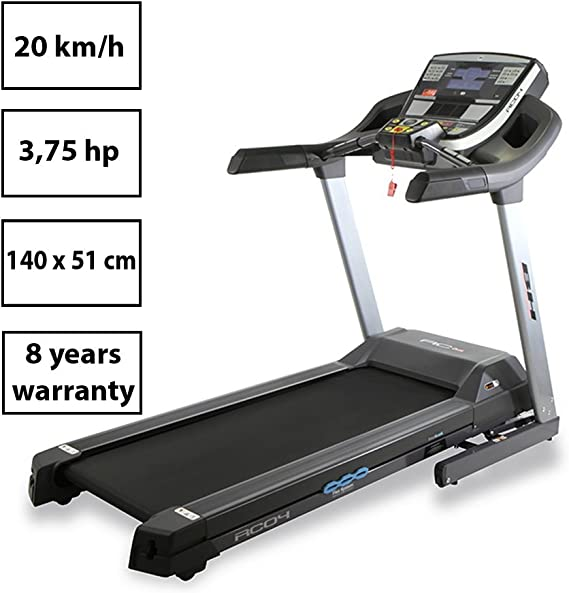 BH Fitness - Cinta de Correr i.rc04 Dual + Dual Kit t: Amazon.es ...