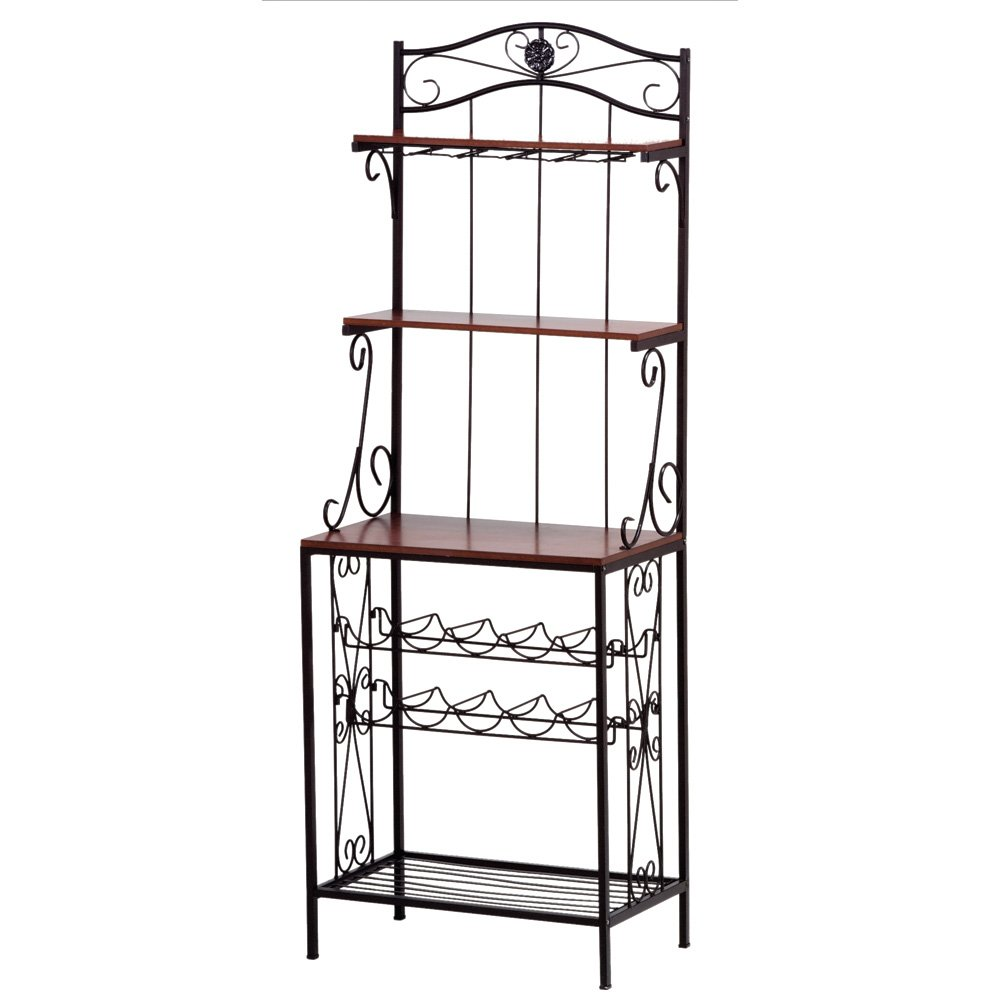 VERDUGO GIFT Bakers Style Wine & Glass Rack by VERDUGO GIFT