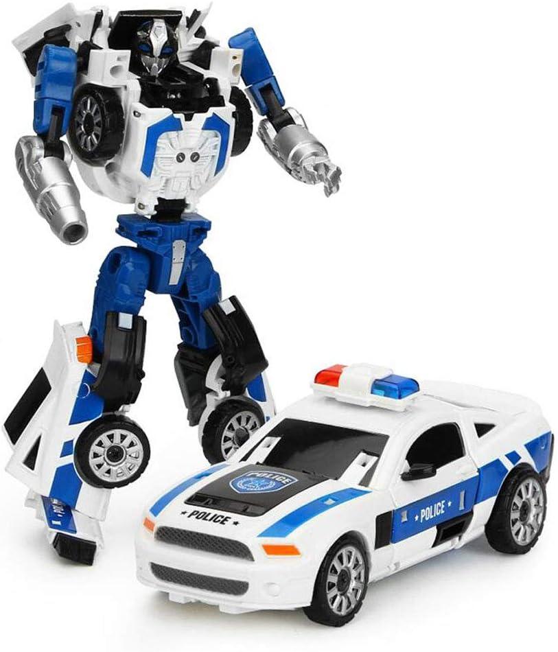 SMUOO 2 in 1 Guarda I Giocattoli Robot Deforme Creativo Educativo Transformation Bots Toy Regali di Natale Compleanno per Ragazzi Ragazze Bambini Bambini 3-6 Anni