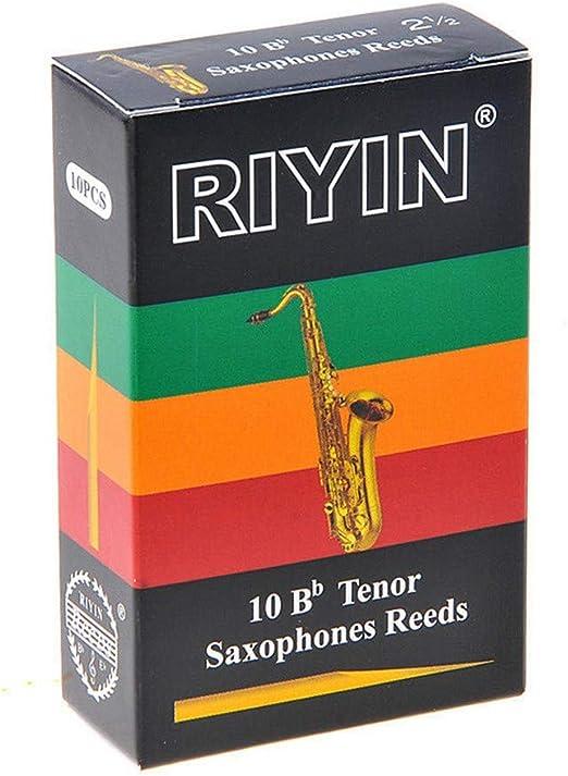 2.5 2 Reed Expression 10 Pcs Alto Eb Sax Saxophone Reeds Strength 1.5 3 //