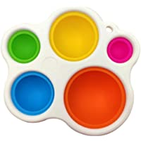Baby Sensory Simple Dimple Toys and Gifts, Toddler Early Educational Toy Silicone Flipping Board Grasp Toys Suitable for…