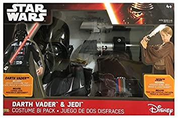Star Wars Darth Vader & Jedi Costume Bi Pack
