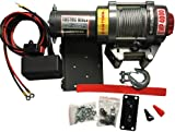 amazon com badland winches 61383 atv utility electric winch withcastool single line waterproof electric winch 12 volt recovery atv utv winch kits wire remote