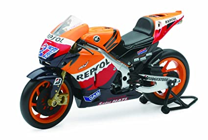 Buy New Ray Toys Street Bike 1:12 Scale Motorcycle - Repsol Honda ...