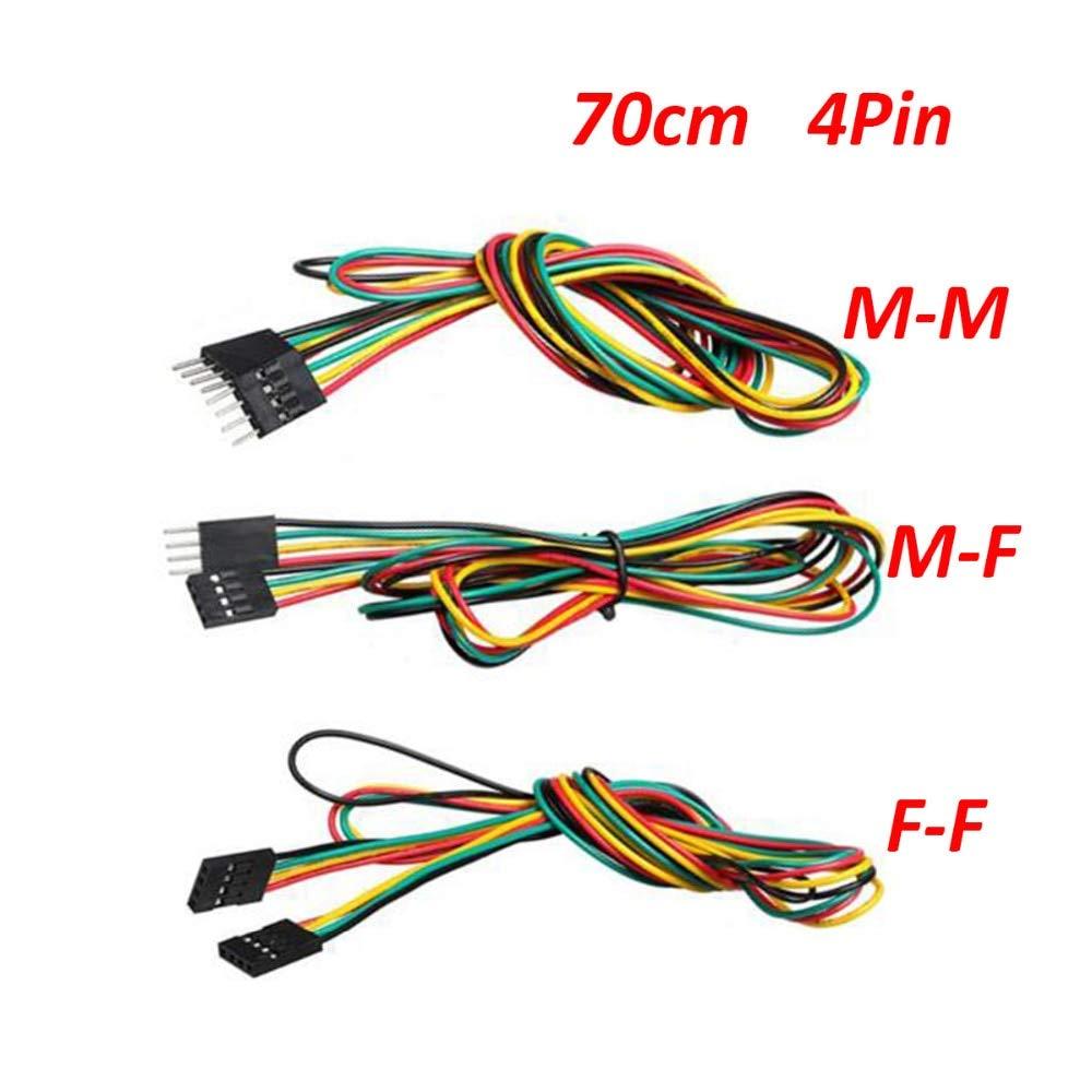Laliva Impresora 3D – Cables de puente 5 piezas/lote 70 cm 4 pines ...