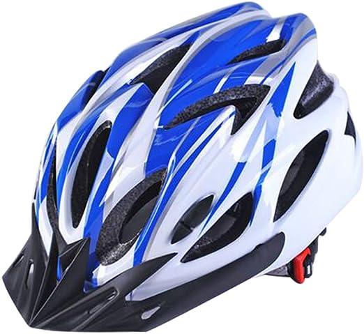 Uzexon Casco ciclista de ciclismo de MTB (18 aberturas), adultos ...
