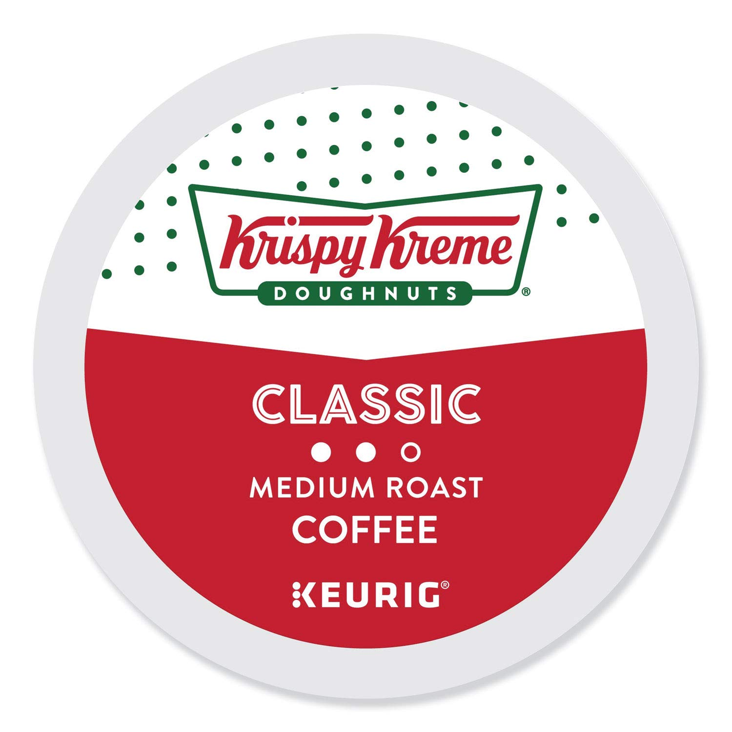 Krispy Kreme Doughnuts Smooth, Single Serve Coffee K-Cup Pod, Medium Roast, 96 by Krispy Kreme