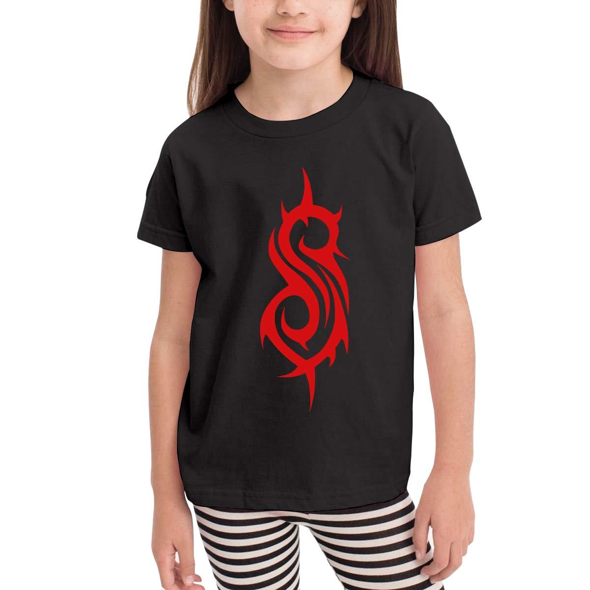 SuperLee Toddler Slipknot Soft Short Sleeve Tee Black
