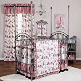 Waverly Tres Chic 4 Piece Baby Crib Bedding Set with Bumper by Trend Lab