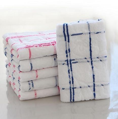 Toallas Jacquard algodón 6-piece Set 600 gramos Extra absorbente algodón suave terciopelo acabado para
