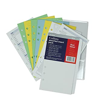 Amazon.com: Collins Desk – Agenda Recambio AST inserciones ...