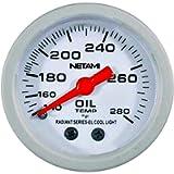NETAMI NT-0321 2' Face Glow Oil Temperature Machanical Gauge Meter