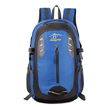 Janexi Mochilas Hombre 40 litros Gran Capacidad Traveling Backpack Antirrobo Bolsa de Camping Mujer Portátil Mochila de Trekking Climbing Rucksack: ...