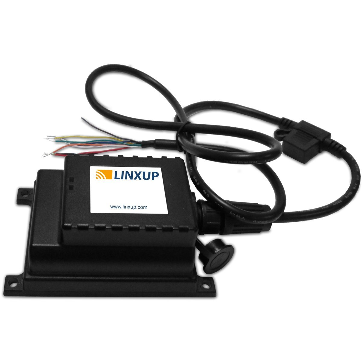 Linxup LAAA61 GPS Tracking Device, Locator for Trailers, Motorcycles, Boats with 6 Month Battery, Black by Linxup