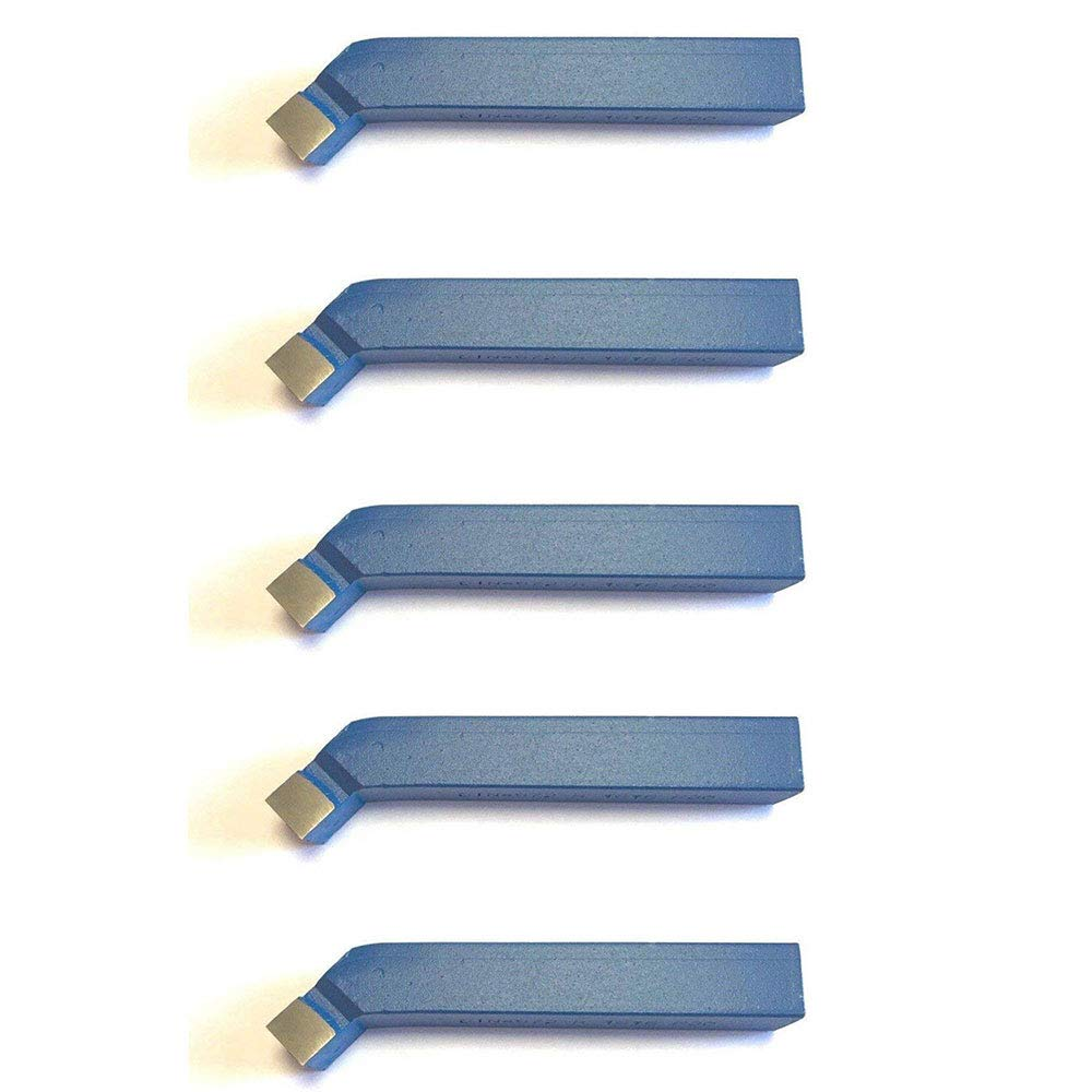 5 St/ück 45/° Drehstahl 8 x 8 mm Qualit/ät f/ür Stahl DIN4972 Drehmei/ßel mit Hartmetall