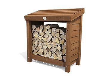 Merveilleux Dunster House Wood Store Log Storage Outdoor Firewood Wooden Kindling  Garden Shed (W3u0027 11u0026quot