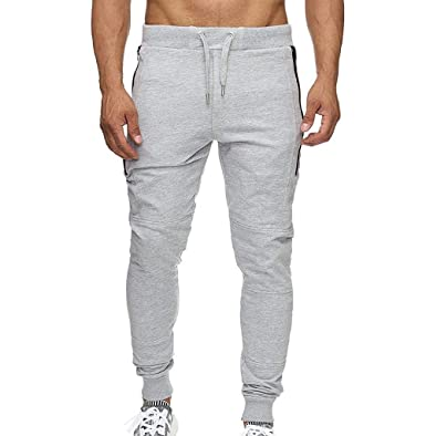 SASOFIA Hombre Jogger Pantalones Chándal Pantalones Jogging ...