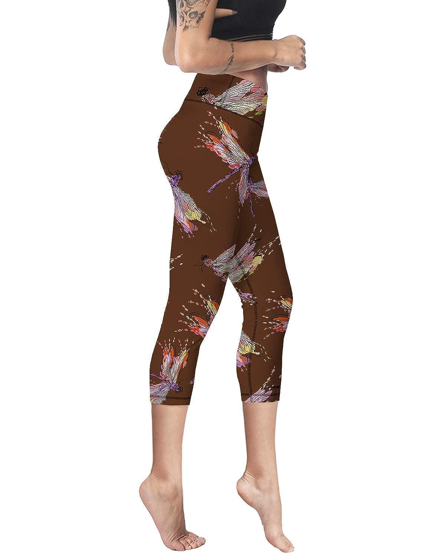 SODIKA High Waist Yoga Pants Tummy Control Workout Pants for ...