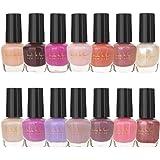 Nicole Miller Nail Polish Set, 14 MINI Nail Polish Colors, Polish Kit for Fingernails and Toenails