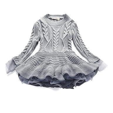 0476df9770407 GETS(ゲッツ) 子供服 可愛い キッズ服 秋冬 セーター ニット 子供服 女の子 ワンピース