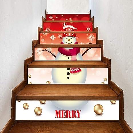 TAOtTAO & # x1 F385; 18 * 100 cm/6pcs Navidad teppen de ...