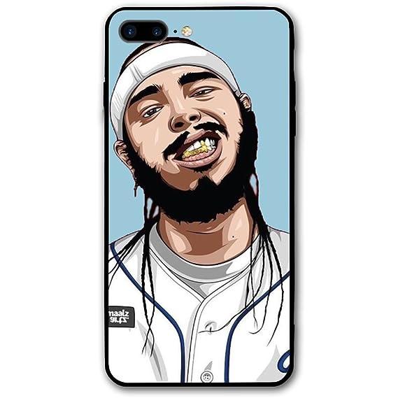 newest 3743b d62e4 Amazon.com: Post Malone Personalized Phone Case Apple iPhone 8 Plus ...