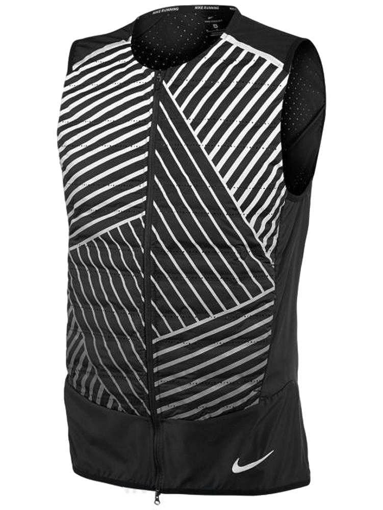 753b71c7eaed Amazon.com  Nike Mens Aeroloft Flash Reflective Running Vest