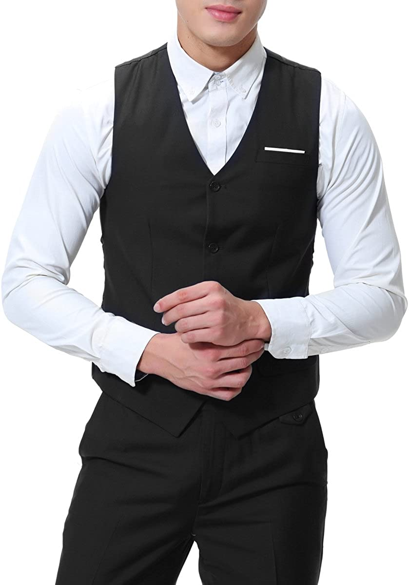 Amazon.com: Cloudstyle - Traje formal de boda para hombre, 3 ...