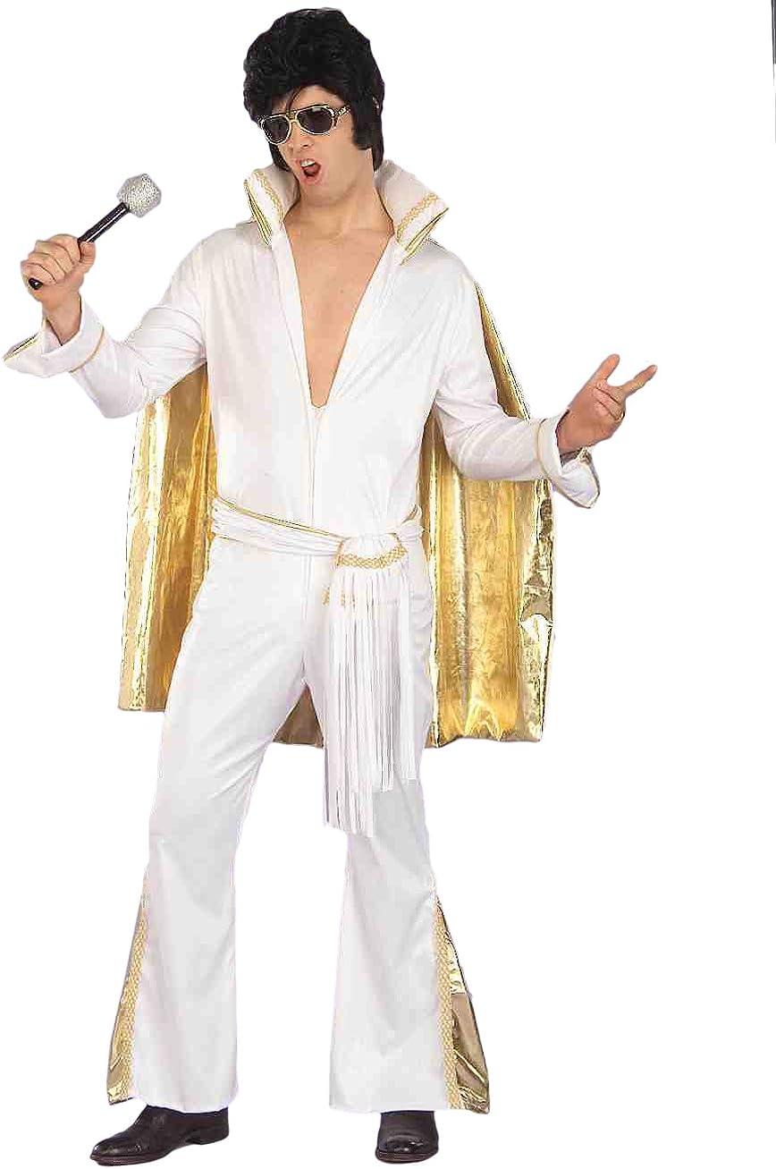 Rock N/' Roll Elvis Presley King Halloween Costume Wig