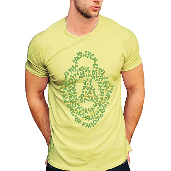 49853bbfb531 kensho Men s Round Neck Tshirt Graphic Design for Modern buddhas ...