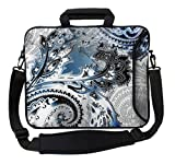 Designer Sleeves 15-Inch Paisley Executive Laptop Case, Steel - Best Reviews Guide