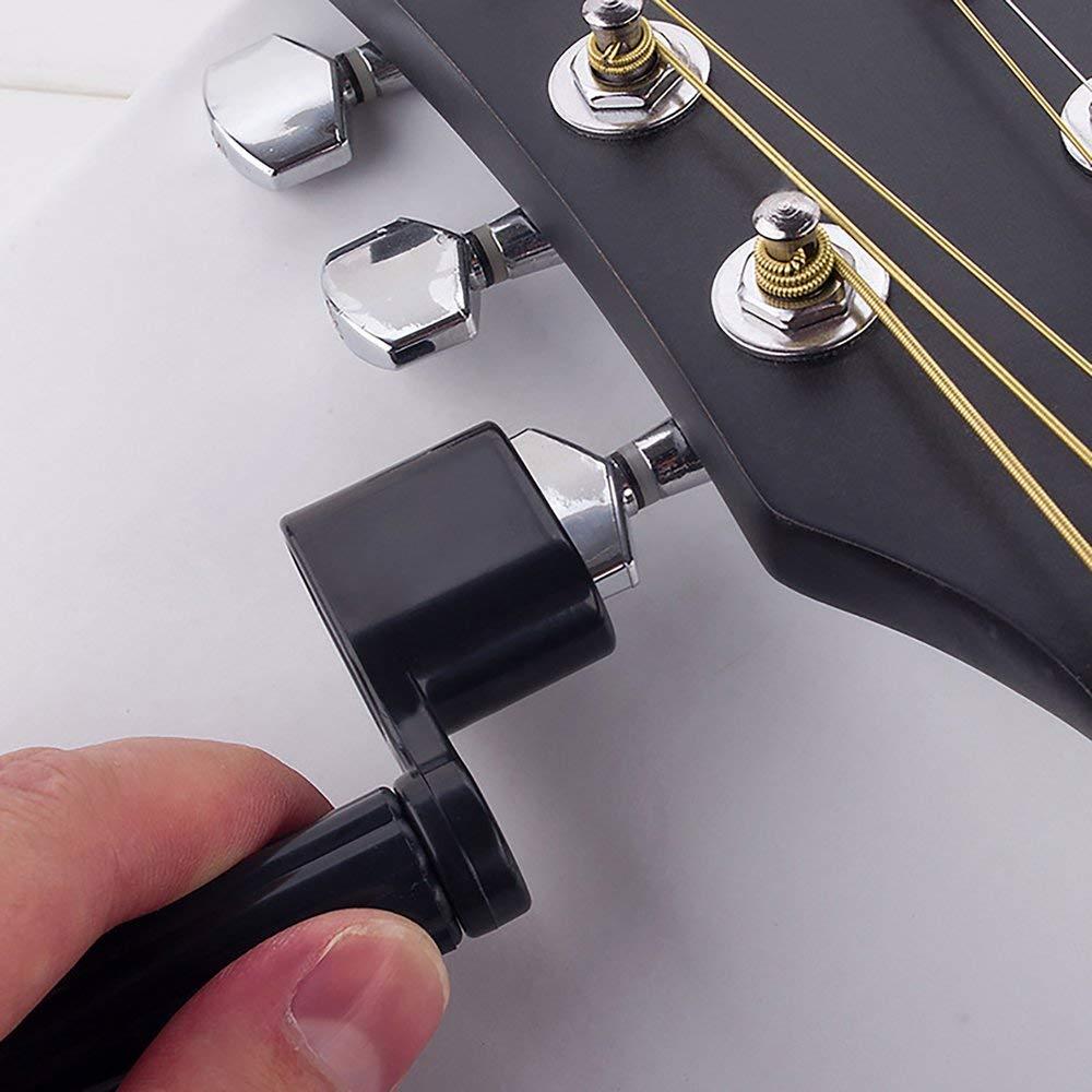 DGdolph Strumento di Ricambio per avvolgicavo per Chitarra Acustica per Chitarra elettrica Colore Casuale