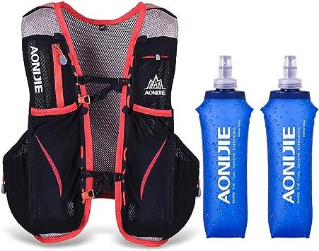 Lixada 5L Vejiga de Agua Mochila, Mochila Hidratación, Running Mochila, Impermeable y Transpirable, para Camping, Marathoner, Correr, Caminar, ...