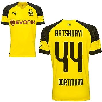 Fan sport24 Puma Borussia Dortmund Home equipación Fútbol camiseta 2018 2019 Hombre Niños con jugador Nombre, Batshuayi, XXXL: Amazon.es: Deportes y aire ...
