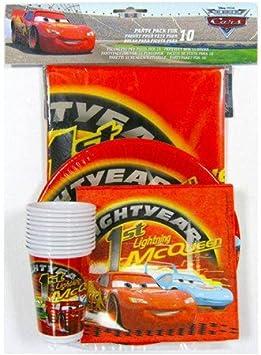 Pack fiesta Cars Disney: Amazon.es: Juguetes y juegos