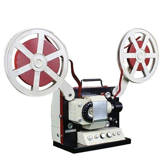 LIJUN Vintage proyector de película Hace Viejo estaño Modelo Foto ...