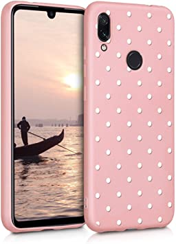 ZhuoFan Funda Xiaomi Redmi Note 7, Cárcasa Silicona Rosa con ...