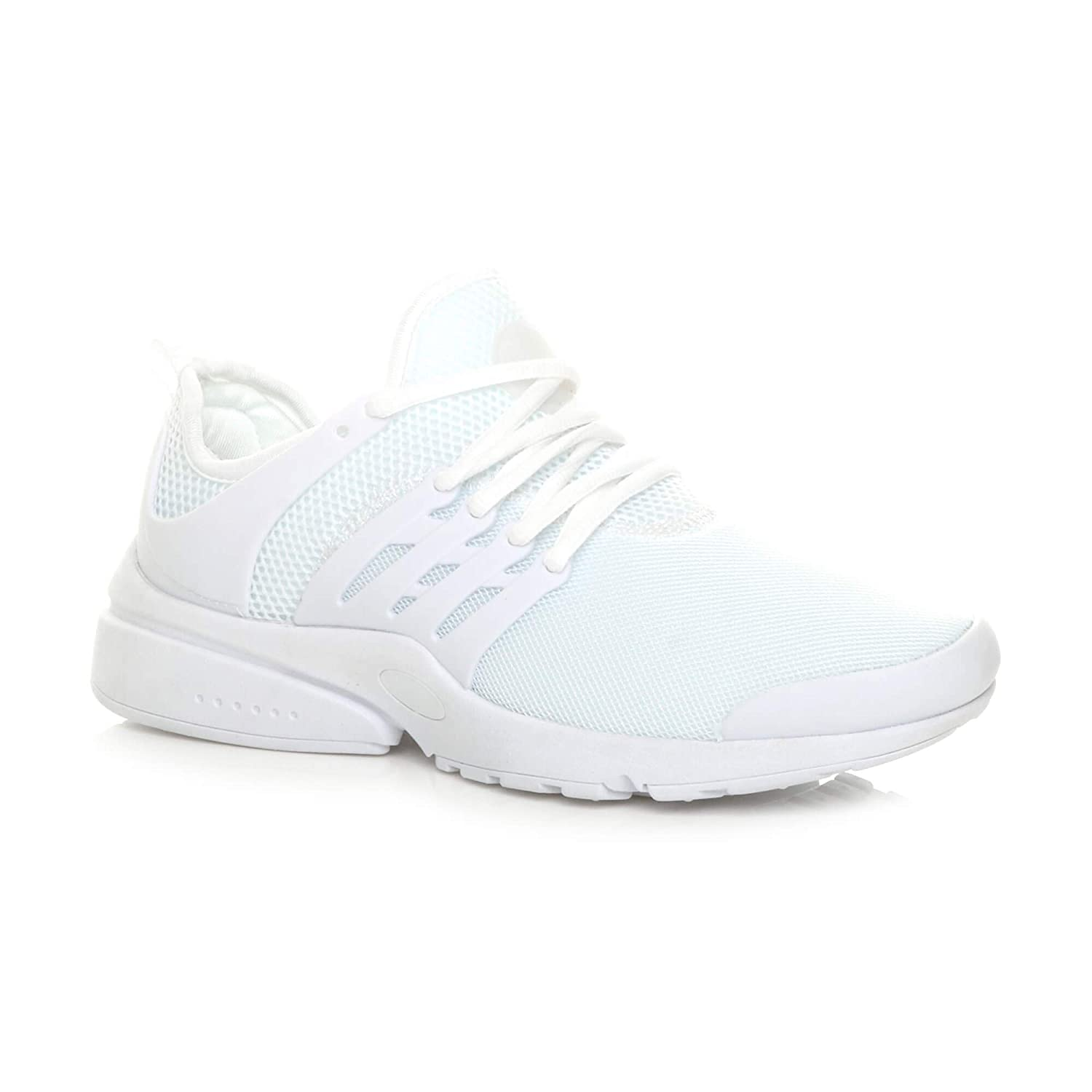 MEN/'S LACE UP SPORT GYM FITNESS RUNNING FLEXIBLE TRAINERS CASUAL SHOES UK SIZE