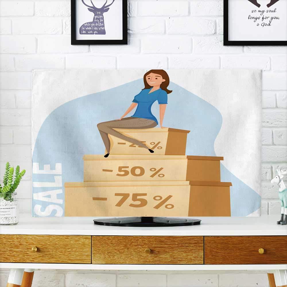 Coverhappy - Televisor para Interiores con Dibujos Animados de ...