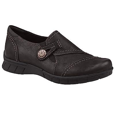 Earth Origins Women's, Norah Slip-On Gray 7 M | Loafers & Slip-Ons