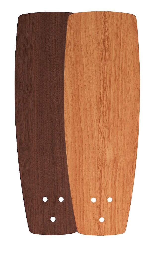 Fanimation BEW42WALW Reversible Plywood Blade, Walnut, 42-Inch Sweep, Set of 5, Compatible with Edgewood Collection